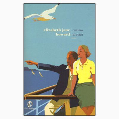 """La copertina del libro """"Cambio di rotta"""" di Elizabeth Jane Howard (Fazi Editore)"""