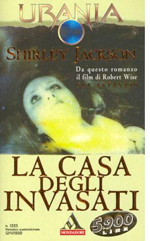 """La copertina del libro """"La casa degli invasati"""" di Shirley Jackson (Mondadori)"""