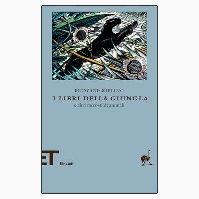"""La copertina de """"I libri della giungla"""", libro scritto da Rudyard Kipling e pubblicato da Einaudi"""