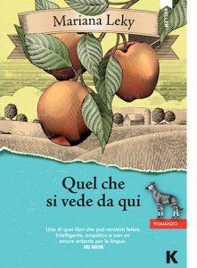 """La copertina del libro """"Quel che viene da qui"""" di Mariana Leky (Keller Editore)"""