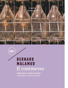 """La copertina del libro """"Il commesso"""" di Bernard Malamud (minimum fax)"""
