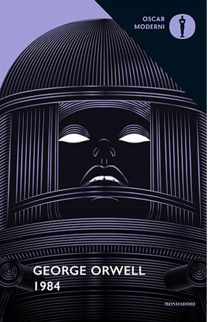 """La copertina del libro """"1984"""" di George Orwell (Mondadori)"""