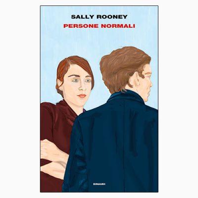 """La copertina del libro """"Persone normali"""", scritto da Sally Rooney e pubblicato da Einaudi"""
