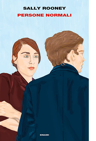 """La copertina del libro """"Persone normali"""" di Sally Rooney (Einaudi)"""