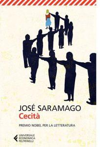 """La copertina del libro """"Cecità"""" di José Saramago (Feltrinelli)"""