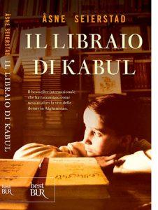 """La copertina del libro """"Il libraio di Kabul"""" di Åsne Seierstad (Rizzoli)"""