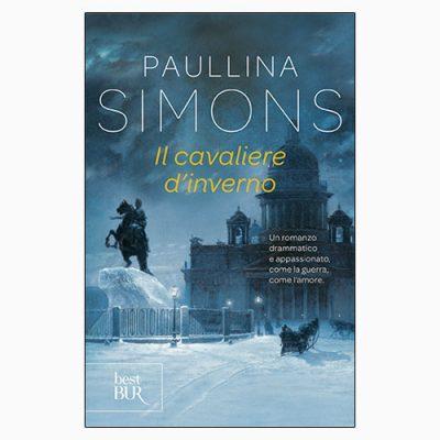 """La copertina de """"Il cavaliere d'inverno"""" di Paullina Simons (Rizzoli)"""