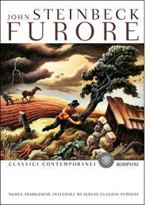 """La copertina del libro """"Furore"""" di John Steinbeck (Bompiani)"""