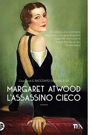 """La copertina del libro """"L'assassino cieco"""" di Margaret Atwood (TEA)"""