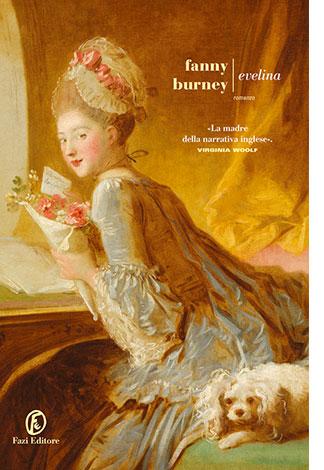 """La copertina del libro """"Evelina"""", scritto da Fanny Burney e pubblicato da Fazi Editore"""