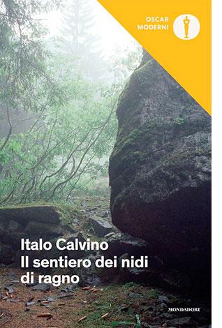 """La copertina del libro """"Il sentiero dei nidi di ragno"""" di Italo Calvino (Mondadori)"""