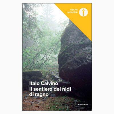 """La copertina del libro """"Il sentiero dei nidi di ragno"""", scritto da Italo Calvino e pubblicato da Mondadori"""