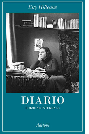 """La copertina del libro """"Diario"""" di Etty Hillesum (Adelphi)"""