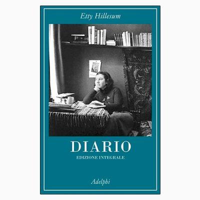 """La copertina del libro """"Diario"""", scritto da Etty Hillesum e pubblicato da Adelphi"""