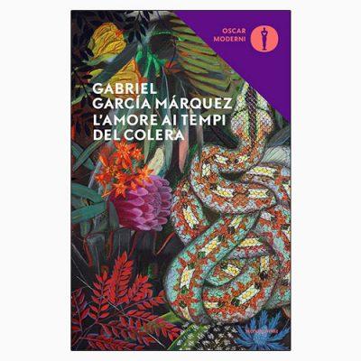 """La copertina del libro """"L'amore ai tempi del colera"""", scritto da Gabriel García Márquez e pubblicato da Mondadori"""