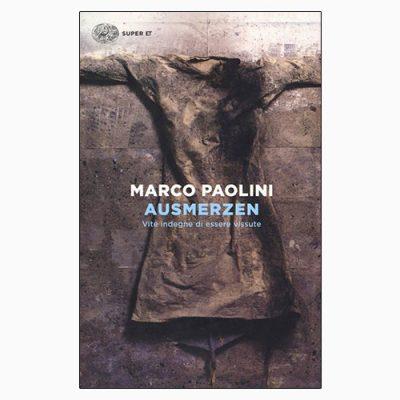 """La copertina del libro """"Ausmerzen"""", scritto da Marco Paolini e pubblicato da Einaudi"""