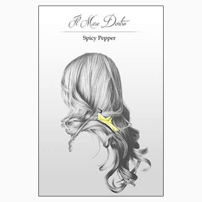 """La copertina del libro """"Il mare dentro"""", libro di poesie scritto da Spicy Pepper"""