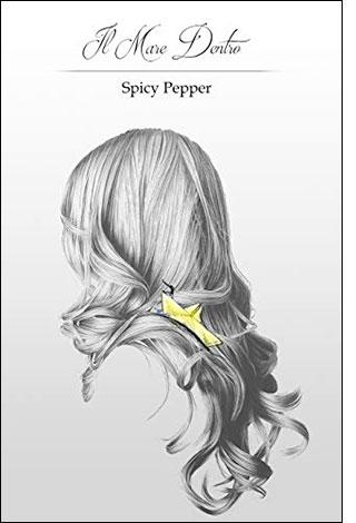 """La copertina del libro """"Il Mare Dentro"""", scritto da Spicy Pepper e autopubblicato"""