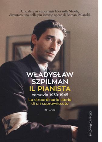 """La copertina del libro """"Il pianista"""" di Władysław Szpilman (Baldini & Castoldi)"""