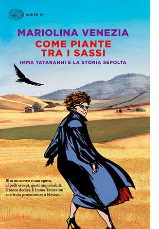 """La copertina del libro """"Come piante tra i sassi"""" di Mariolina Venezia (Einaudi)"""