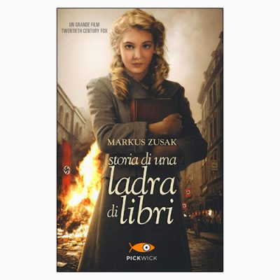 """La copertina di """"Storia di una ladra di libri"""" di Markus Zusak (Sperling & Kupfer)"""