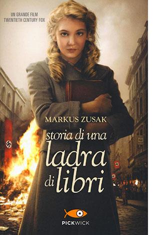 """La copertina del libro """"Storia di una ladra di libri"""", scritto da Markus Zusak e pubblicato da Sperling & Kupfer"""