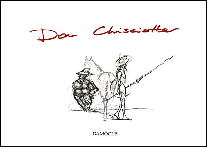 """La copertina del libro """"Don Chisciotte"""" del Quadrivio (Damocle Edizioni)"""