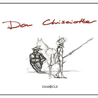 """La copertina del libro """"Don Chisciotte"""" della compagnia teatrale Il Quadrivio, pubblicato da Damocle Edizioni"""
