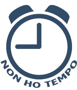 Icona rappresentante una sveglia che viene applicata alle schede di tutti i libri indicati per chi non ha tempo