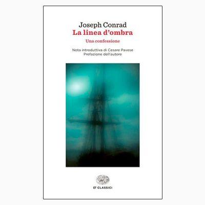 """La copertina del libro """"La linea d'ombra"""" di Joseph Conrad (Einaudi)"""