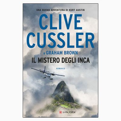 """La copertina del libro """"Il mistero degli Inca"""" di Clive Cussler (Longanesi)"""