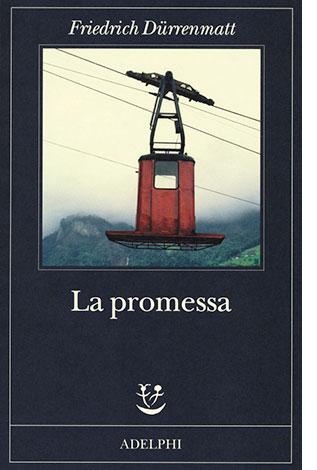 """La copertina del libro """"La promessa"""", scritto da Friedrich Dürrenmatt (Adelphi)"""