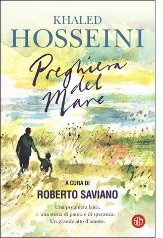 """la copertina del libro """"Preghiera del mare"""" di Khaled Hosseini (SEM)"""