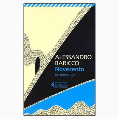 """La copertina del libro """"Novecento"""", scritto da Alessandro baricco e pubblicato da Feltrinelli"""