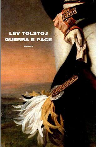 """La copertina del libro """"Guerra e pace"""" di Lev Tolstoj (Einaudi)"""