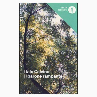 """La copertina del libro """"Il barone rampante"""" di Italo Calvino (Mondadori)"""