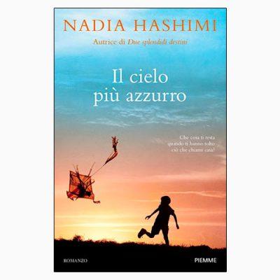 """La copertina del libro """"Il cielo più azzurro"""" di Nadia Hashimi (Piemme)"""