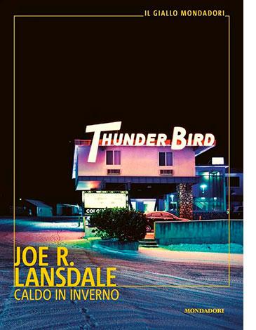 """La copertina del libro """"Caldo in inverno"""" di Joe R. Lansdale (Mondadori)"""