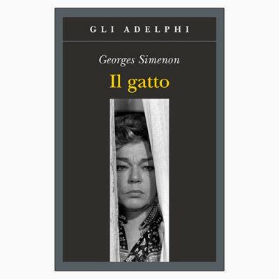 """La copertina del libro """"Il gatto"""", scritto da Georges Simenon e pubblicato da Adelphi"""