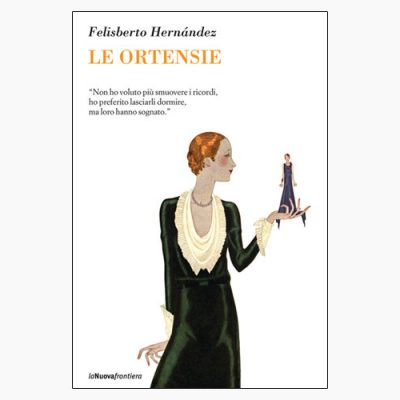 "La copertina del libro ""Le ortensie"" di Felisberto Hernández (La Nuova Frontiera)"