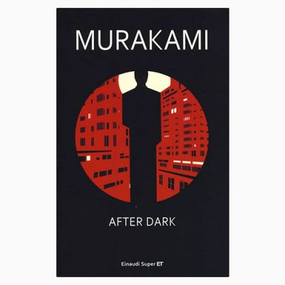 "La copertina del libro ""After dark"" di Murakami (Einaudi)"