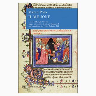 """La copertina del libro """"Il milione"""" di Marco Polo (BUR Rizzoli)"""