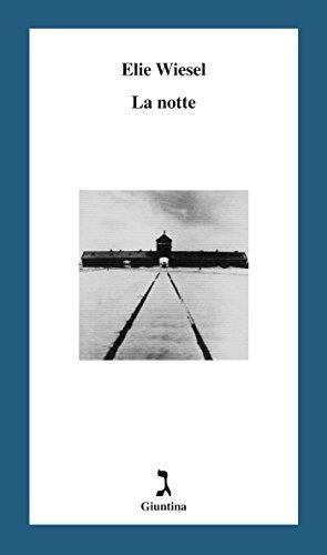 """La copertina del libro """"La notte"""" di Elie Wiesel (La Giuntina)"""