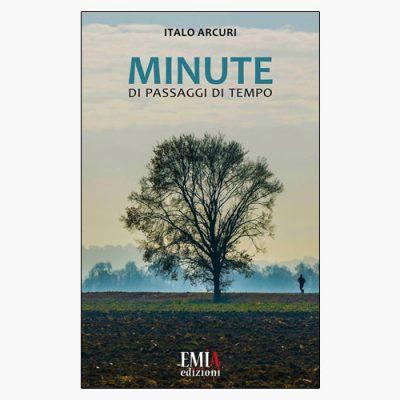 """La copertina del libro """"Minute"""" di Italo Arcuri (Emia)"""