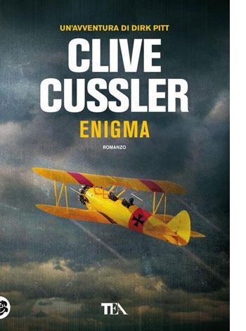 """La copertina del libro """"Enigma"""" di Clive Cussler (TEA)"""