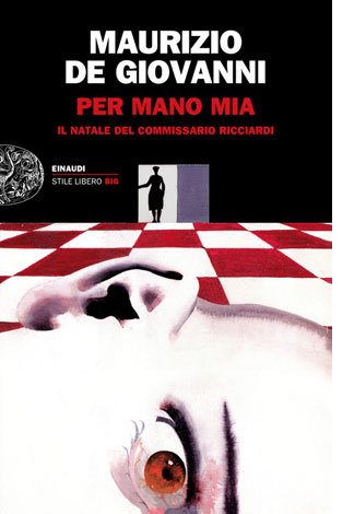 """La copertina del libro """"Per mano mia"""" di Maurizio de Giovanni (Einaudi)"""