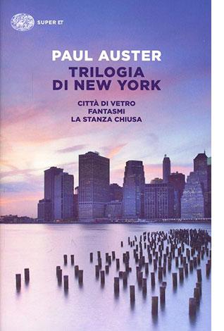 """La copertina del libro """"Trilogia di New York"""" di Paul Auster (Einaudi)"""