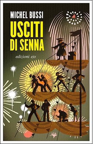 """La copertina del libro """"Usciti di Senna"""" di Michel Bussi (edizioni e/o)"""