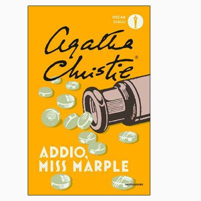 """La copertina del libro """"Addio, Miss Marple"""" di Agatha Christie (Mondadori)"""
