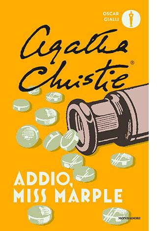 """La copertina del libro """"Addio Miss Marple"""" di Agatha Christie (Mondadori)"""